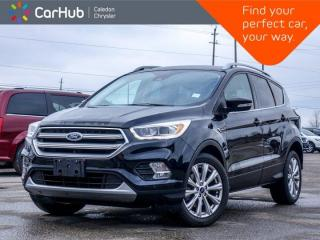 Used 2017 Ford Escape Titanium AWD Navigation Panoramic Sunroof Backup Camera Blind Spot bluetooth Remote Start 18
