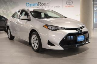 Used 2017 Toyota Corolla 4-door Sedan LE CVTi-S for sale in Richmond, BC