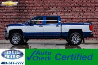 Used 2018 Chevrolet Silverado 1500 4x4 Crew Cab LT Big 10 BCam for sale in Red Deer, AB