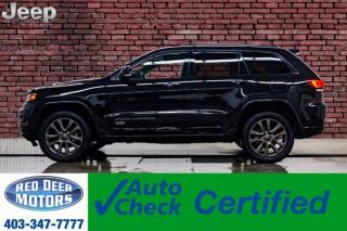 Used 2017 Jeep Grand Cherokee 4x4 Limited 75th Anniversary Leather Roof for sale in Red Deer, AB
