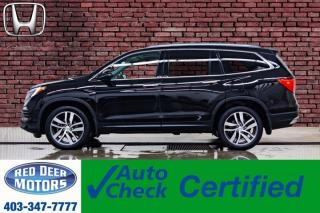 Used 2016 Honda Pilot AWD Touring Leather Roof Nav TV BCam for sale in Red Deer, AB