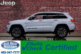 Used 2018 Jeep Grand Cherokee 4x4 Limited Leather Roof Nav BCam for sale in Red Deer, AB