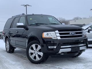Used 2017 Ford Expedition Platinum LEATHER HEATED SEATS/ STEERING, NAVIGATION for sale in Midland, ON