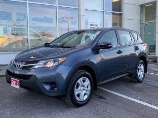 Used 2013 Toyota RAV4 LE AWD-ONE OWNER BOUGHT AND SERVICED HERE! for sale in Cobourg, ON