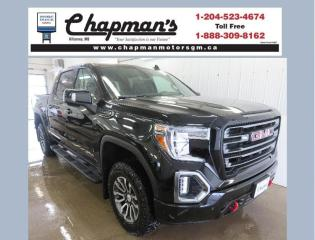 New 2021 GMC Sierra 1500 AT4 Remote Start, Heated & Ventilated Front Seats, Power Sunroof for sale in Killarney, MB