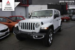 New 2019 Jeep Wrangler Unlimited SAHARA LEATHER for sale in Nanaimo, BC