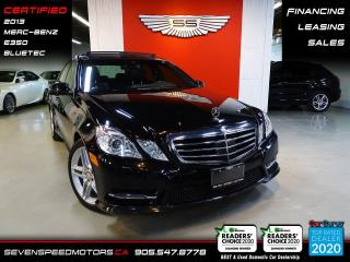 Used 2013 Mercedes-Benz E-Class BLUETEC AMG PKG | CERTIFIED | FINANCE | 9055478778 for sale in Oakville, ON