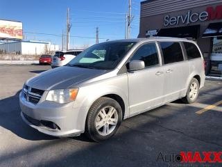 Used 2018 Dodge Grand Caravan Crew Plus - REAR VIEW CAMERA, HEATED LEATHER! for sale in Windsor, ON