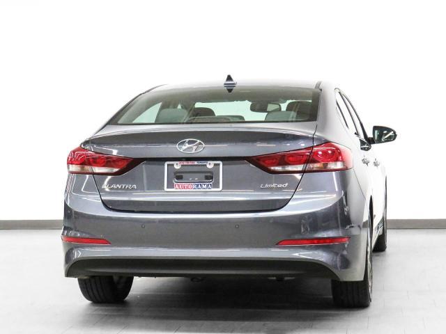 2017 Hyundai Elantra Limited Navigation Leather Sunroof Bcam
