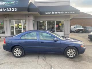 Used 2001 Volvo S60 AS-IS for sale in Mississauga, ON