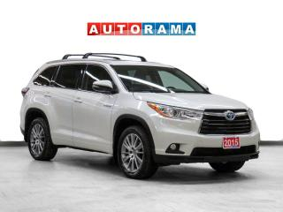 Used 2015 Toyota Highlander Hybrid XLE AWD Nav Leather Sunroof Bcam for sale in Toronto, ON