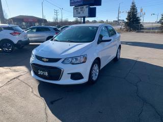 Used 2018 Chevrolet Sonic LT for sale in Brantford, ON