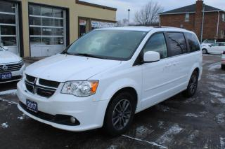 Used 2017 Dodge Grand Caravan SXT Premium Plus Leather DVD for sale in Brampton, ON