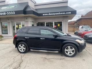 Used 2005 Nissan Murano SL for sale in Mississauga, ON