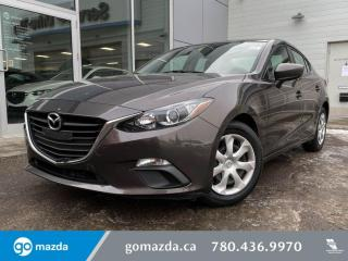 Used 2015 Mazda MAZDA3 GX - MANUAL, BACK UP, BLUETOOTH, EXTREMELY LOW KMS!!!! for sale in Edmonton, AB