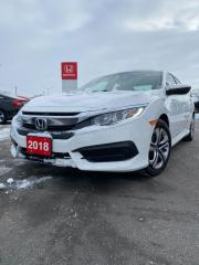 Used 2018 Honda Civic Sdn LX for sale in Woodstock, ON