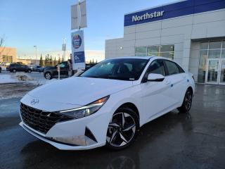 New 2021 Hyundai Elantra ULTIMATE:BLUELINK/10.25 INCH SCREEN/SUNROOF/LEATHER/BOSE SOUND for sale in Edmonton, AB