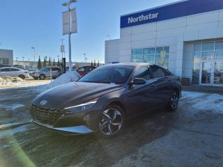 New 2021 Hyundai Elantra ULTIMATE TECH: BLUELINK/10.25 INCH DISPLAY/FULL SAFETY PKG/NAVIGATION for sale in Edmonton, AB