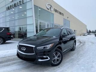 Used 2020 Infiniti QX60 PURE, CPO, ACCIDENT FREE for sale in Edmonton, AB