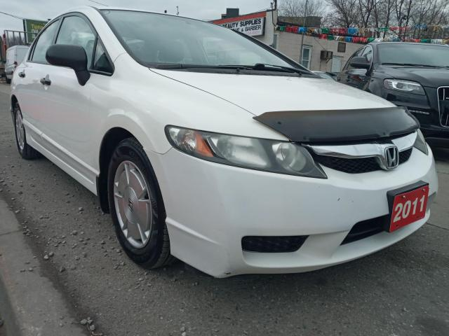2011 Honda Civic DX-G-EXTRA CLEAN-ONLY 161K-4 CYL-ALLOYS-GAS SAVER