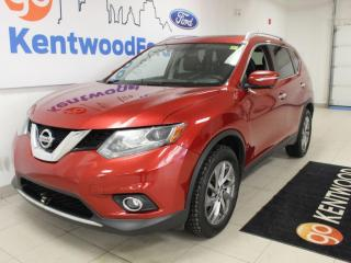 Used 2015 Nissan Rogue SL | AWD | Leather | Sunroof | One Owner Trade for sale in Edmonton, AB