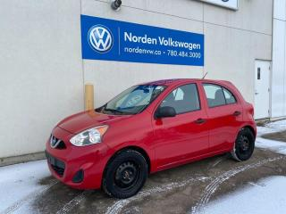 Used 2015 Nissan Micra S 5SPD M/T HATCHBACK for sale in Edmonton, AB