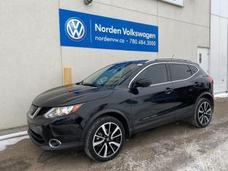 Used 2019 Nissan Qashqai SL AWD - LEATHER / SUNROOF / NAVI for sale in Edmonton, AB