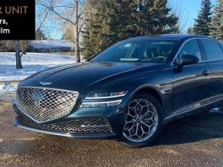 New 2021 Genesis G80 2.5T Advanced AWD for sale in Edmonton, AB