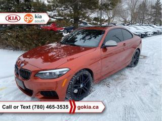 Used 2018 BMW 2 Series M240I XDRIVE; AWD, WINTER TIRES, HEATED SEATS, LEATHER, NAV, BACKUP CAMERA, BUTTON START, BLUETOOTH for sale in Edmonton, AB