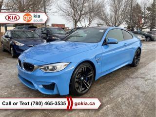 Used 2016 BMW M4 M4 COUPE; RARE!!!, LOW KM!!!, HEATED SEATS, LEATHER, NAV, HARMAN/KARDON, 3M, BLUETOOTH for sale in Edmonton, AB