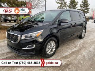 Used 2020 Kia Sedona LX; HEATED SEATS/WHEEL, BACKUP CAMERA, 8 PASSENGER, BLUETOOTH for sale in Edmonton, AB