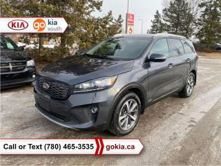 Used 2019 Kia Sorento EX V6; LOW KM!!!, AWD, HEATED SEATS/WHEEL, LEATHER, BACKUP CAMERA, 7 PASSENGER, BUTTON START, BLUETOOTH for sale in Edmonton, AB