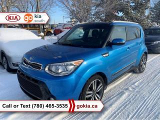 Used 2015 Kia Soul SX LUXURY; PANORAMIC SUNROOF, HEATED/COOLED SEATS, CAR STARTER, A/C, LEATHER, NAV, BACKUP CAMERA, BLIND SPOT, BUTTON START, 3M, BLUETOOT for sale in Edmonton, AB