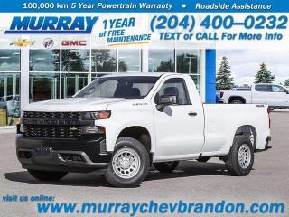 New 2020 Chevrolet Silverado 1500 Work Truck for sale in Brandon, MB