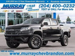 New 2021 Chevrolet Colorado 4WD ZR2 for sale in Brandon, MB