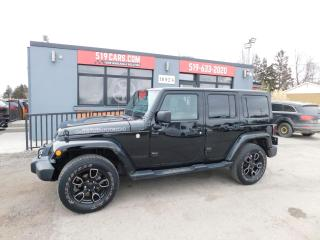 Used 2017 Jeep Wrangler Smoky Mountain | Leather | NAV | Heated Seats for sale in St. Thomas, ON