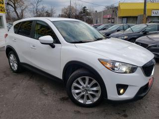 Used 2013 Mazda CX-5 GT/AWD/NAVI/CAMERA/LEATHER/ROOF/LOADED/ALLOYS++ for sale in Scarborough, ON