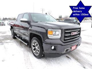 Used 2015 GMC Sierra 1500 SLT 1 owner 4X4 5.3L Leather seats for sale in Gorrie, ON