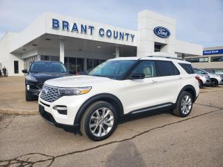 New 2021 Ford Explorer Platinum for sale in Brantford, ON