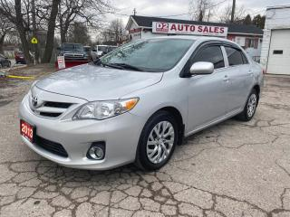 Used 2013 Toyota Corolla CE/Automatic/Gas Saver/Comes Certified for sale in Scarborough, ON