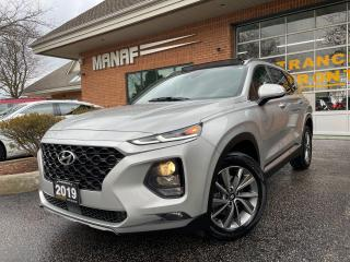 Used 2019 Hyundai Santa Fe 2.0T  Luxury AWD Panoramic Sunroof Rear Cam Certi* for sale in Concord, ON