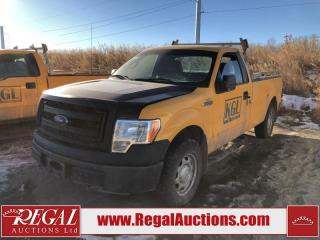 Used 2014 Ford F-150 XL REG CAB 4WD 3.7L for sale in Calgary, AB