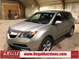 Used 2010 Acura MDX 4D Utility AWD for sale in Calgary, AB