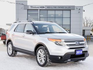 Used 2014 Ford Explorer XLT HEATED LEATHER | MOONROOF for sale in Winnipeg, MB