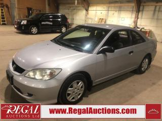Used 2005 Honda Civic 2D Coupe FWD for sale in Calgary, AB