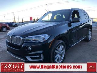Used 2016 BMW X5 XDRIVE35I 4D Utility AWD for sale in Calgary, AB