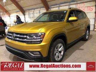 Used 2018 Volkswagen Atlas 4D UTILITY for sale in Calgary, AB