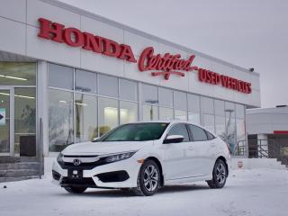 Used 2018 Honda Civic LX | BLUETOOTH | CARPLAY | for sale in Winnipeg, MB