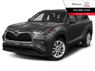 New 2021 Toyota Highlander Limited PLATINUM PKG for sale in Winnipeg, MB