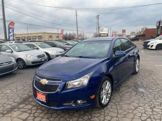 Used 2012 Chevrolet Cruze LT Turbo+ w/1SB for sale in Hamilton, ON
